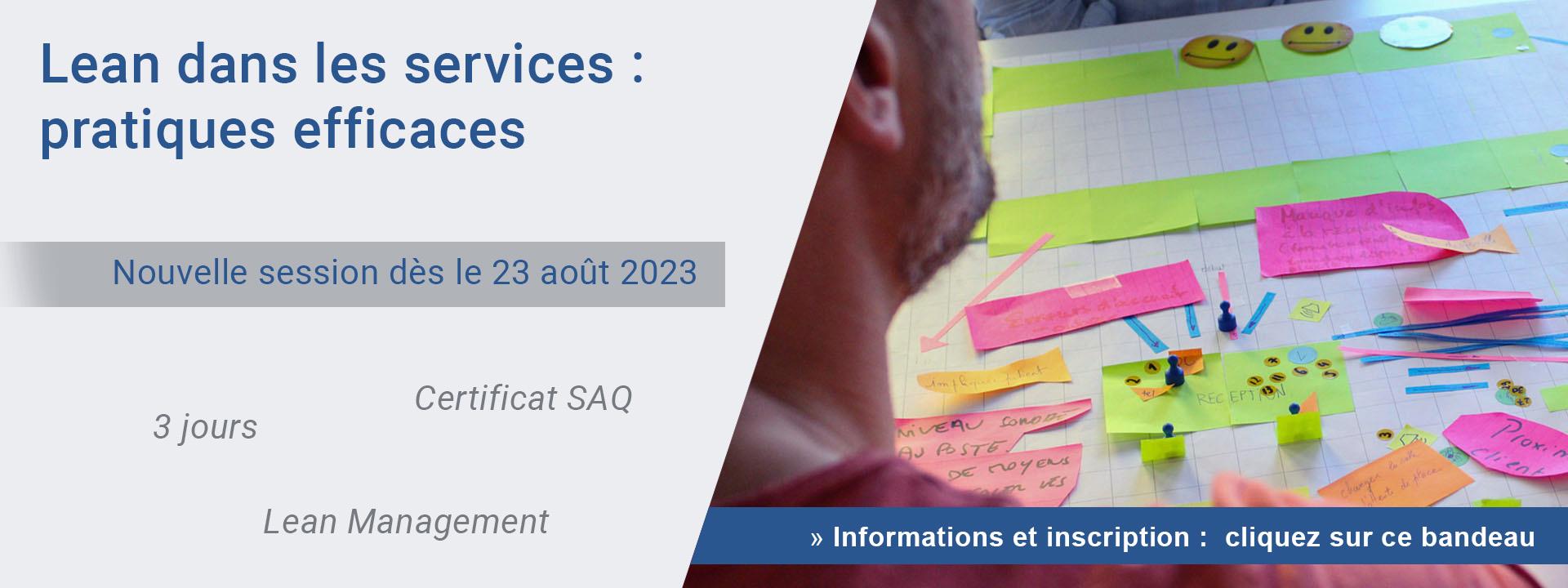 Lean dans les services : pratiques efficaces