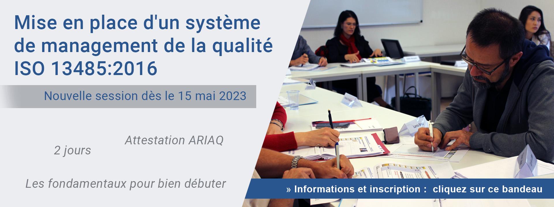 Mise en place d'un système de management de la qualité ISO 13485:2016 - Les fondamentaux pour bien débuter