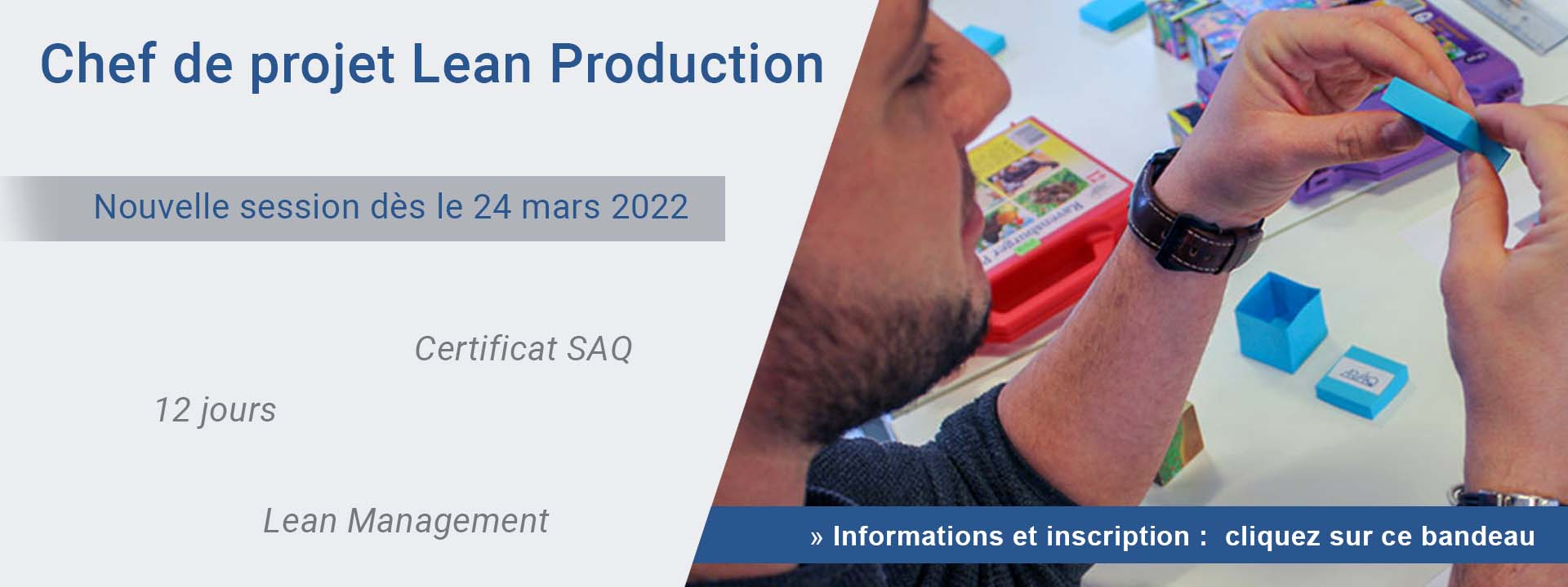Chef de projet Lean Production